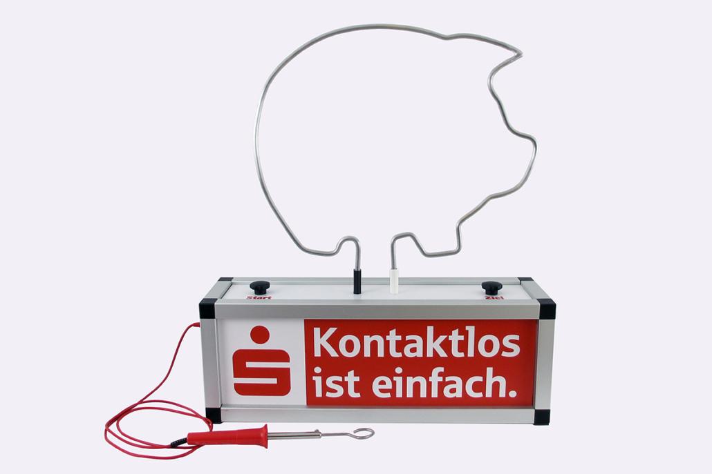 Modell Sparkasse mit Spieldraht »Sparschwein«