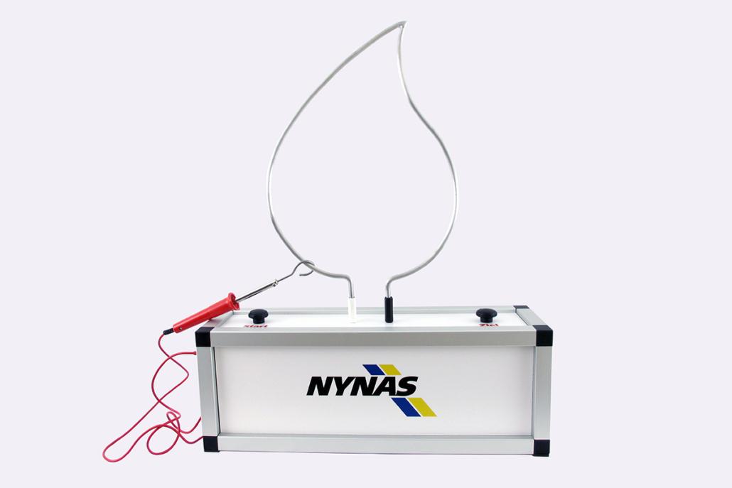 Heißer Draht »NYNAS« mit Logo-Spieldraht