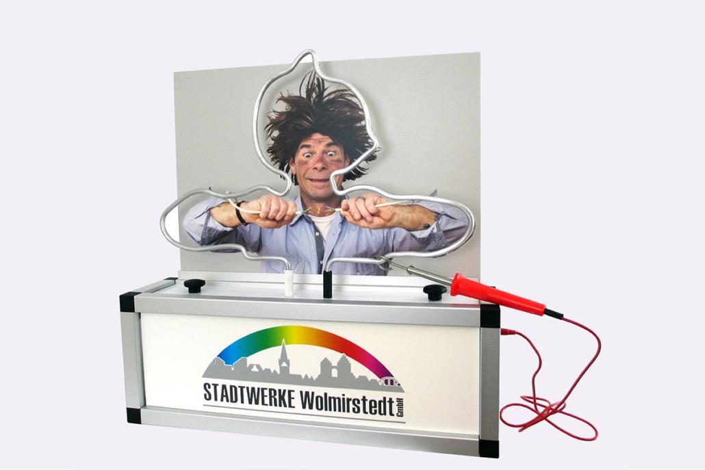 Sondermodell »Stadtwerke Wolmirstedt«