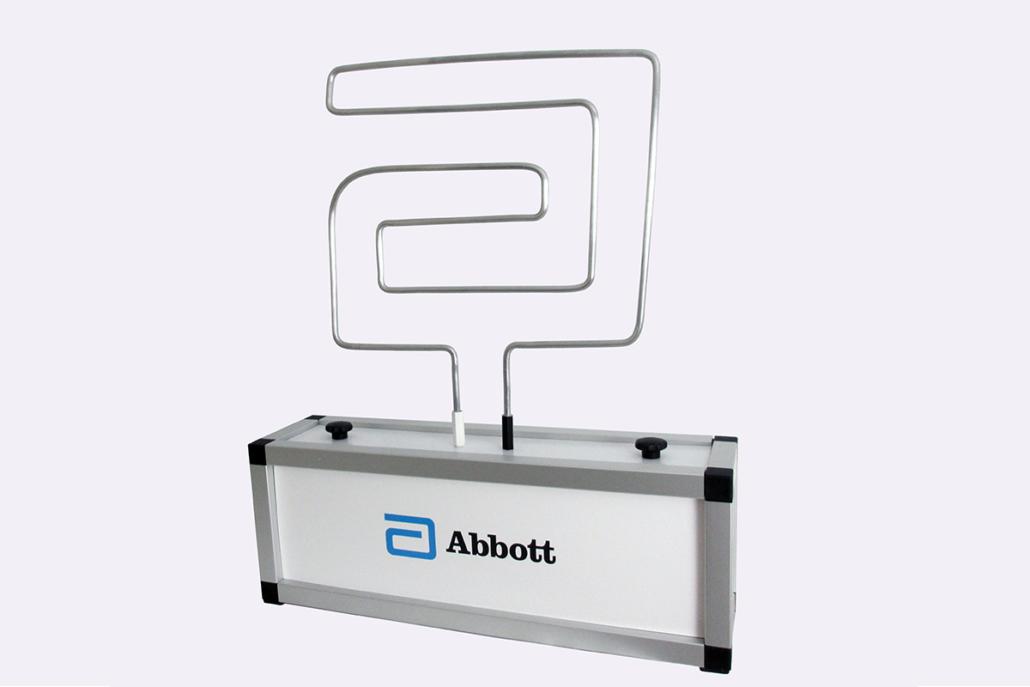 Logo-Spieldraht »Abbott«