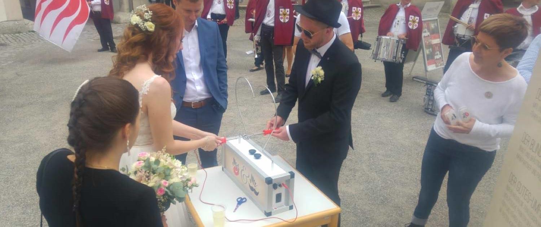Heißer Draht Hochzeit