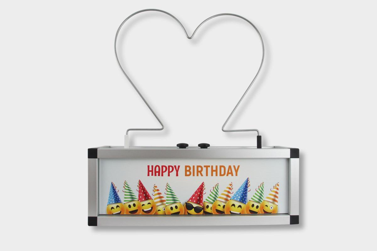 Der Heiße Draht Happy Birthday als Mietgerät