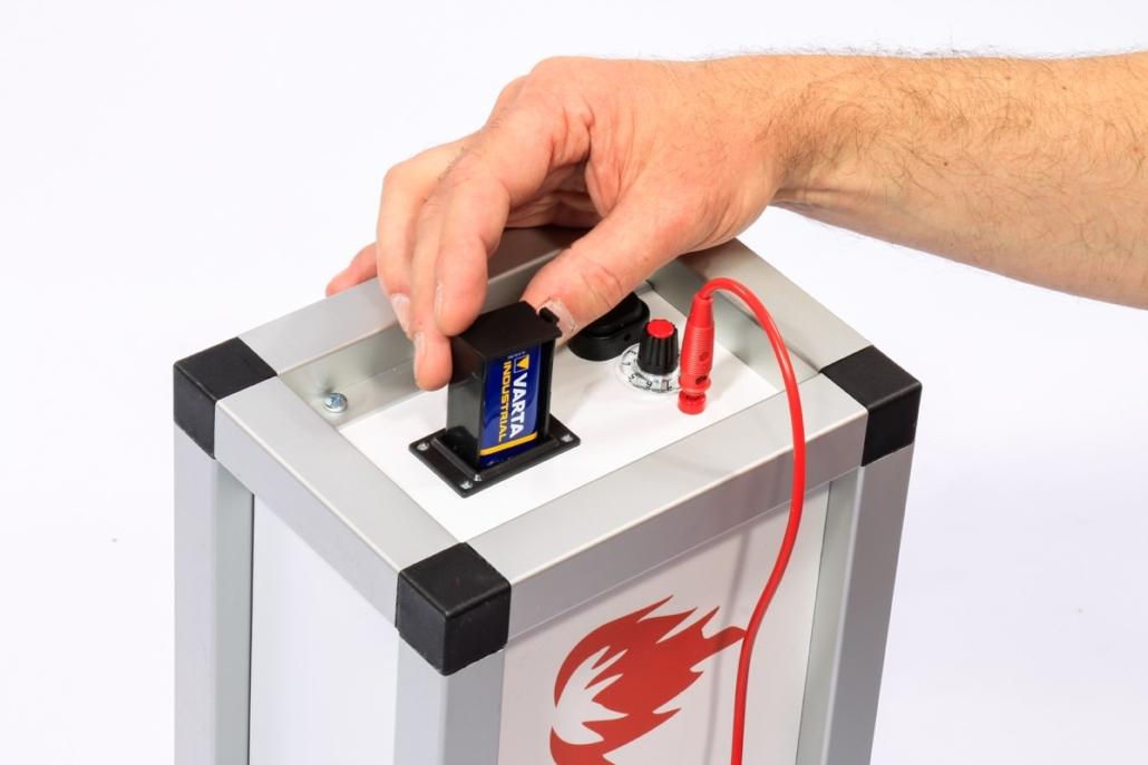 Der Heiße Draht Batteriefach