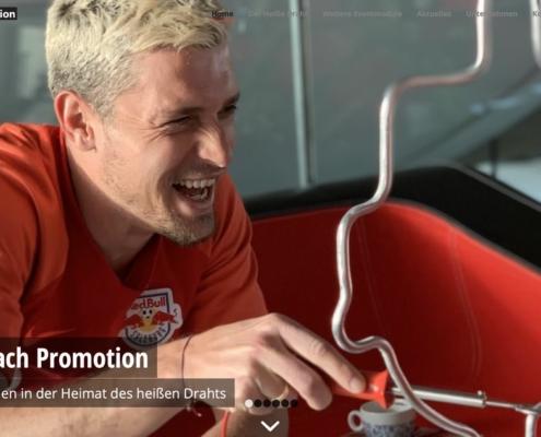 Screenshot rossbach-promotion.de